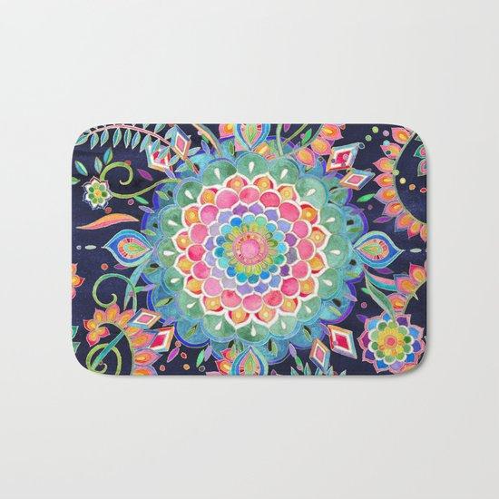 Color Celebration Mandala Bath Mat
