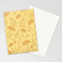 Meadowland (Gold) Stationery Cards