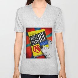 SuperHero 101 Unisex V-Neck