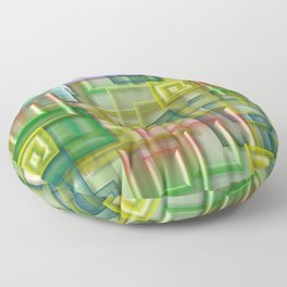 Color shade Floor Pillow