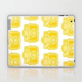I Still Shoot Film Holga Logo - Sunshine Yellow Laptop & iPad Skin