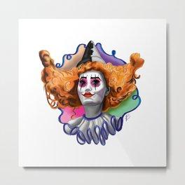 Circus Queen Metal Print