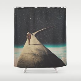 We Chose This Road My Dear Shower Curtain