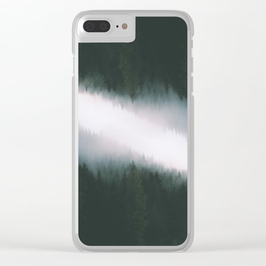 Forest Reflections V Clear iPhone Case