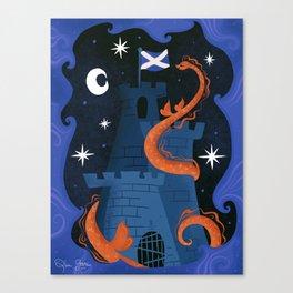 Night, Night Nessie Canvas Print