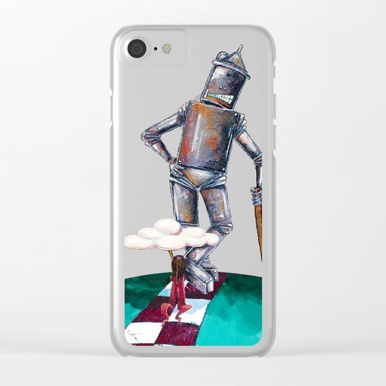 We're not in Kansas anymore Clear iPhone Case