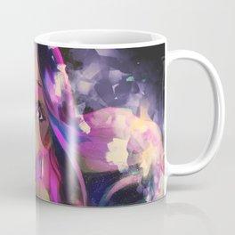 Neon Girl Coffee Mug
