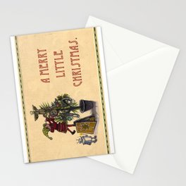 A Merry Little Christmas! Stationery Cards