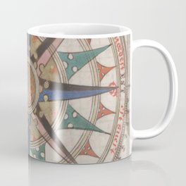 Historical Nautical Compass (1543) Coffee Mug