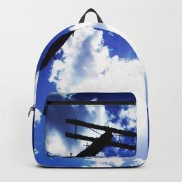 Blue Blue Sky Skies Backpack