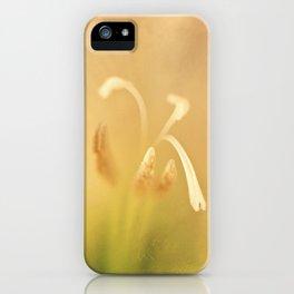 The Secret Inner Life of Gladioli iPhone Case