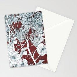 Hibiscus meets Pandanus (St. Damien 2) Stationery Cards