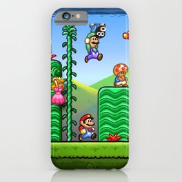 Super Mario 2 iPhone Case