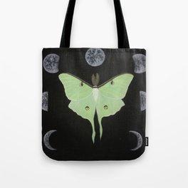 Cycles of Luna Tote Bag