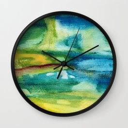 Postscript Wall Clock