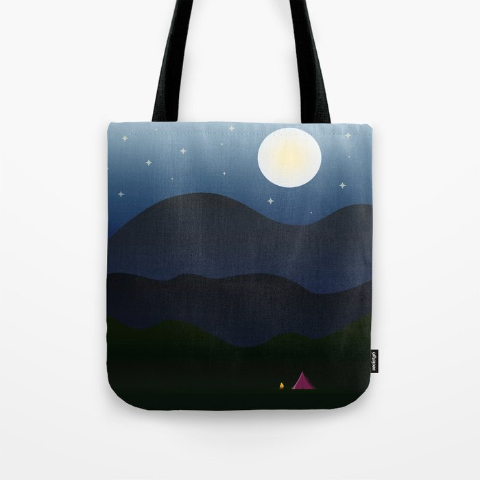 The joys of the great outdoors Tote Bag