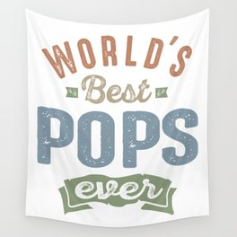 orld's Best Pops Wall Tapestry