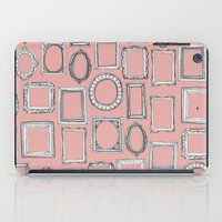 frames iPad Cases featuring picture frames mimosa by Sharon Turner
