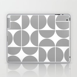Mid Century Modern Geometric 04 Grey Laptop & iPad Skin