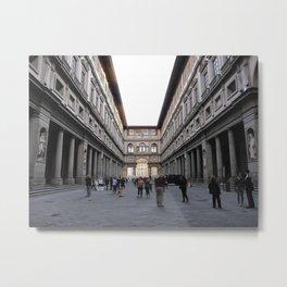 Uffizi Metal Print