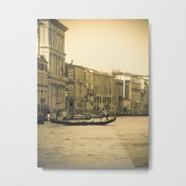 Venice, Grand Canal 5 Metal Print