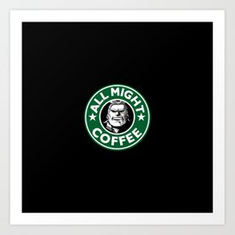 supercoffee Art Print