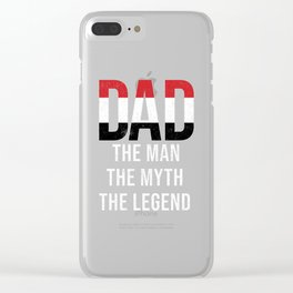 Yemen Dad Fathers Day Clear iPhone Case