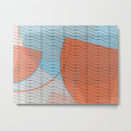 ALBaMass - line in the sand Metal Print