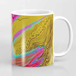 Metamorphosis with me-chartreuse Coffee Mug