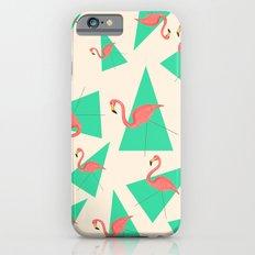 Crazy Flamingos Slim Case iPhone 6s