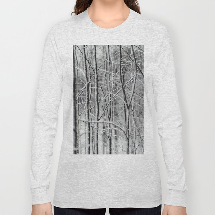 Frosted Forest Long Sleeve T-shirt