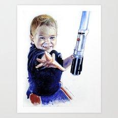 Young Jedi Rowan Art Print