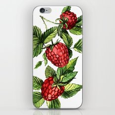 Raspberries iPhone & iPod Skin