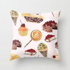 Candy!! Throw Pillow