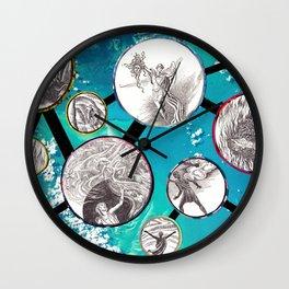 Mythical Molecules Wall Clock