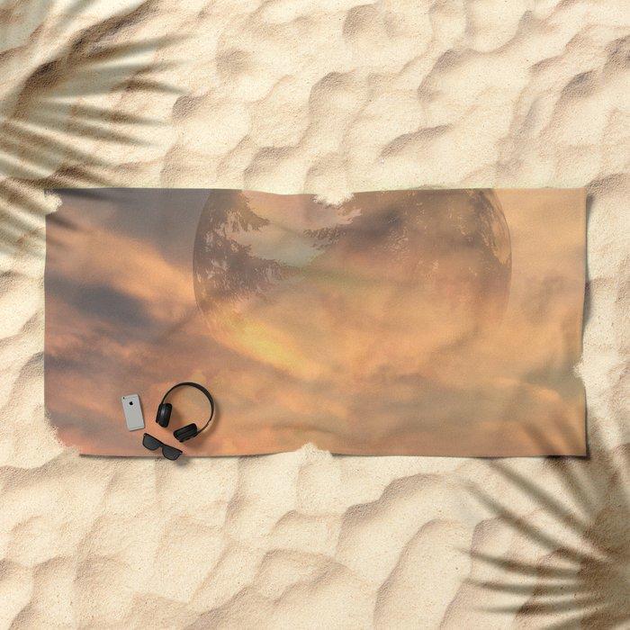 A New Dawn Beach Towel