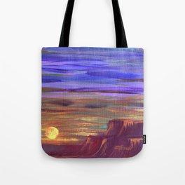 Magical Southwest Night Sky Tote Bag