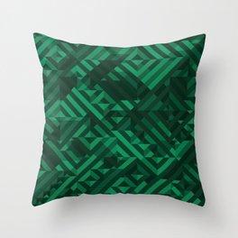 Atacamite Throw Pillow