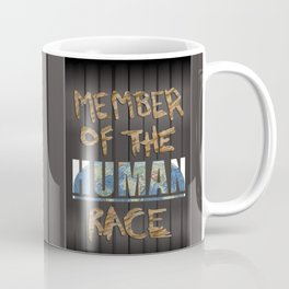 Human Race Coffee Mug