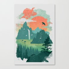 Lost Cove Canvas Print