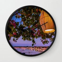 Bali Vista Wall Clock