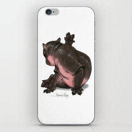 HippoCat iPhone Skin