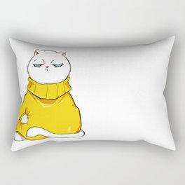 itchy sweater Rectangular Pillow