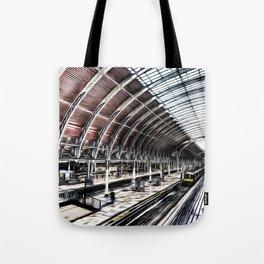 Paddington Station Art Tote Bag