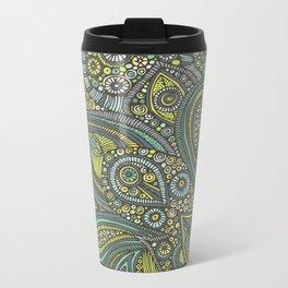 Blue Safari Metal Travel Mug