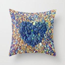 Hard Heart Throw Pillow