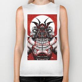 Samurai Artwork Biker Tank
