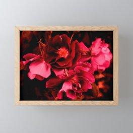 Seeing red Framed Mini Art Print