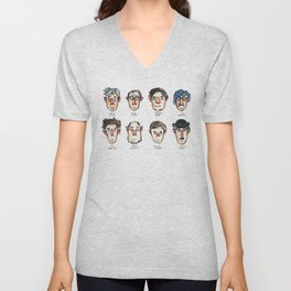 Cinemaholic Unisex V-Neck