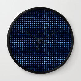 Sci-Fi Tech Circuit Wall Clock